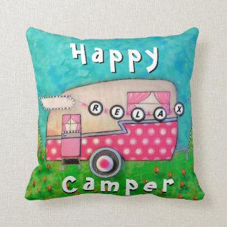 ご機嫌な人の枕、キャンピングカーの芸術 クッション