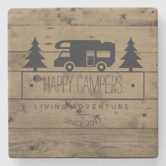ご機嫌な人の退職|素朴な木RVキャンプ ストーンコースター
