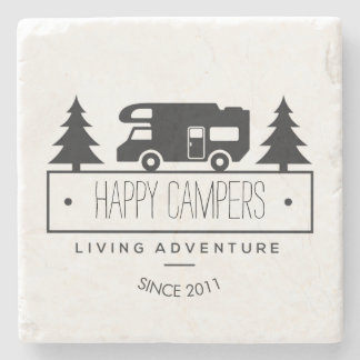 ご機嫌な人退職したな キャンプのRVs RVers RVing ストーンコースター