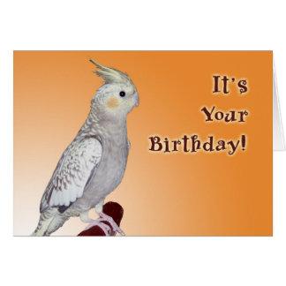 さえずりあなた自身の誕生日 カード
