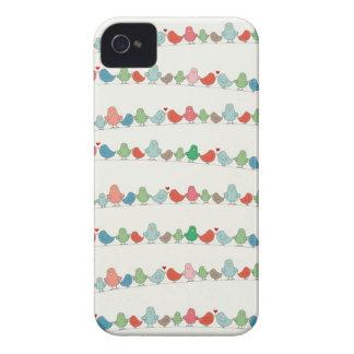 さえずりのさえずりの電話箱 Case-Mate iPhone 4 ケース