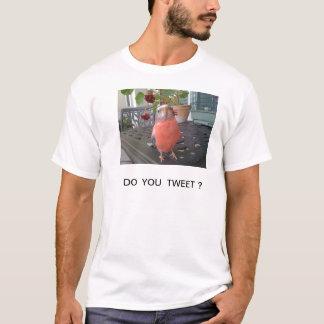 さえずりますか。 Tシャツ