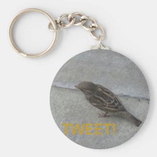 さえずり! 鳥のkeychain キーホルダー