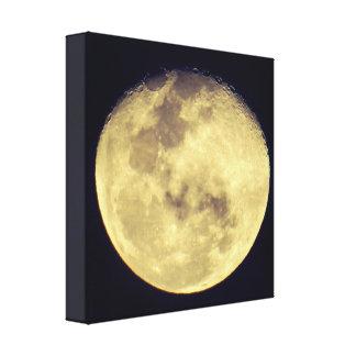 さえ渡った月 キャンバスプリント
