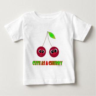 さくらんぼとしてかわいい ベビーTシャツ