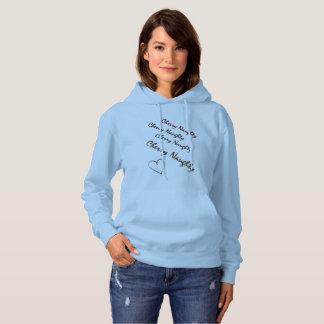 さくらんぼのいけない元のデザインのロゴのフード付きスウェットシャツ パーカ
