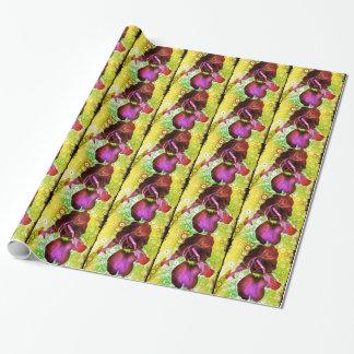 さくらんぼのアイリスギフト用包装紙 ラッピングペーパー