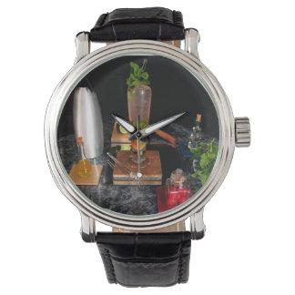 さくらんぼのアーモンドMojito - KBのカクテルラウンジの腕時計 腕時計