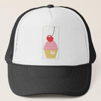 さくらんぼのカップケーキ キャップ
