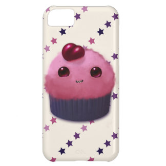 さくらんぼのカップケーキ iPhone5Cケース