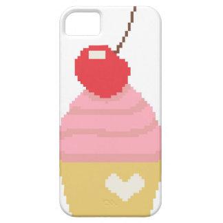 さくらんぼのカップケーキ iPhone SE/5/5s ケース