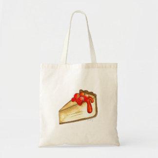 さくらんぼのチーズケーキNYCのグルメのデザートのトートバック トートバッグ