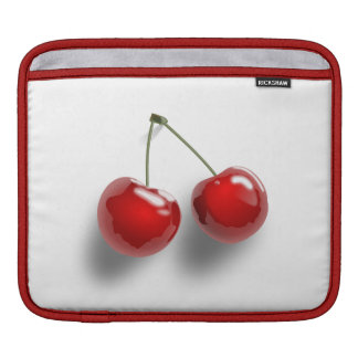 さくらんぼの冷え iPadスリーブ