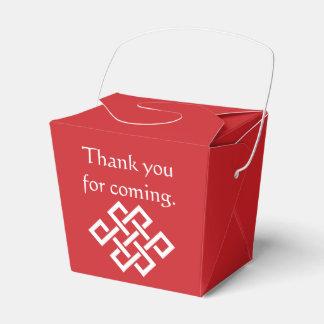 さくらんぼの好意箱の中国のな優雅 フェイバーボックス