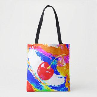 さくらんぼの市場のバッグ トートバッグ