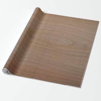 """さくらんぼの木製のプリントの包装紙、30"""" x 6' ラッピングペーパー"""