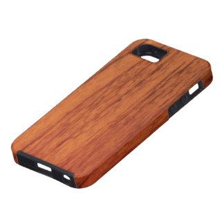 さくらんぼの木製のプリント iPhone SE/5/5s ケース
