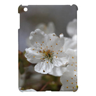 さくらんぼの花のマクロ写真 iPad MINI CASE