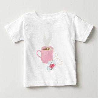 さくらんぼの茶 ベビーTシャツ