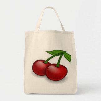 さくらんぼの買い物袋 トートバッグ