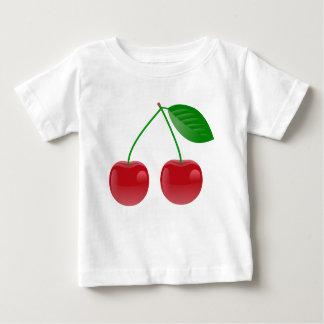 さくらんぼはすべてでよく見ます! ベビーTシャツ