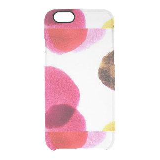 さくらんぼりんご クリアiPhone 6/6Sケース