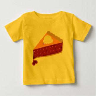 さくらんぼパイハート ベビーTシャツ