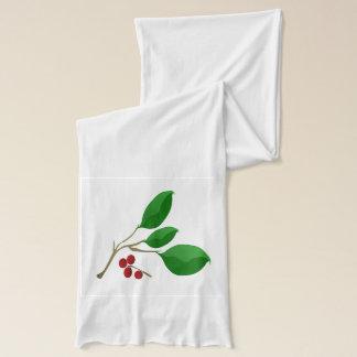 さくらんぼ月桂樹 スカーフ