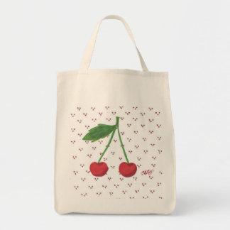 さくらんぼ2の食料雑貨 トートバッグ