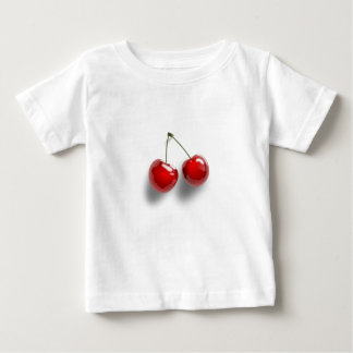さくらんぼ ベビーTシャツ