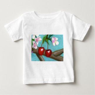 さくらんぼBlossum ベビーTシャツ