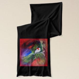 さくらんぼthroatedフウキンチョウ族のスカーフ スカーフ