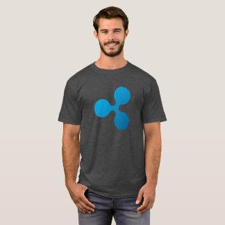 さざ波(XRP)のロゴ- Tシャツ