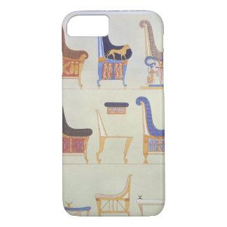 さまざまで色彩の鮮やかな座席およびarmchaiの絵 iPhone 8/7ケース