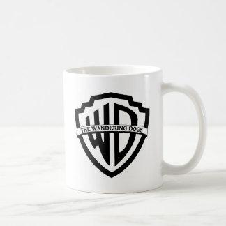 さまよう犬のロゴ コーヒーマグカップ