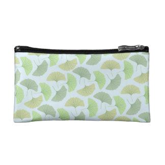 さまよう緑のイチョウの化粧のバッグ コスメティックバッグ
