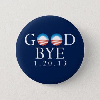 さようならオバマボタン 5.7CM 丸型バッジ
