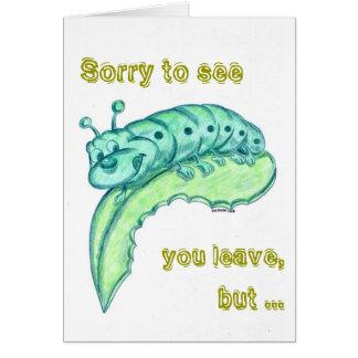 さようならカード/お祝いカード グリーティングカード