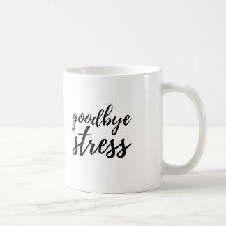さようならストレス コーヒーマグカップ