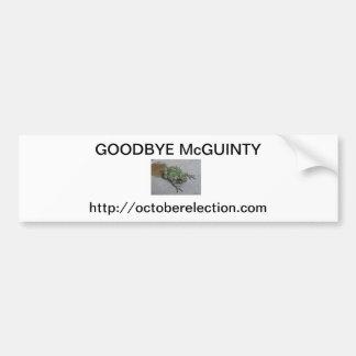 さようなら渋滞しているMcGuinty バンパーステッカー