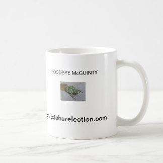 さようならMcGuintyのマグ コーヒーマグカップ