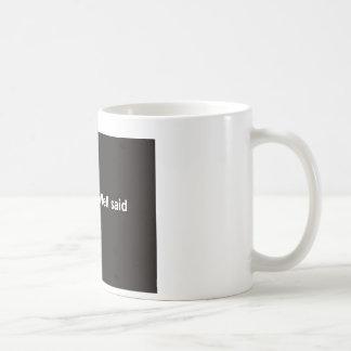された井戸は>健康言いました コーヒーマグカップ