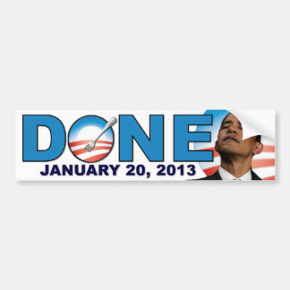 された- 2013年1月20日-反オバマ バンパーステッカー