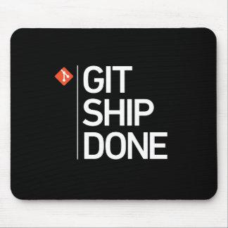 されるGitの船 マウスパッド
