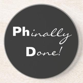 されるPhinally! Ph.D. 大学院のコースター コースター