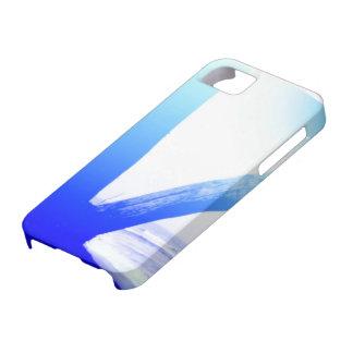 さわやかな感じのための青い箱 iPhone SE/5/5s ケース