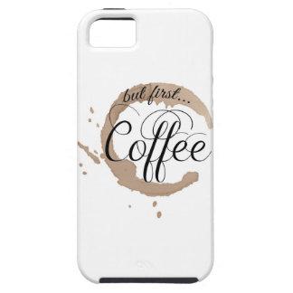 しかし最初に、コーヒー… iPhone SE/5/5s ケース