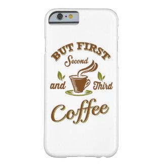 しかし最初コーヒー BARELY THERE iPhone 6 ケース