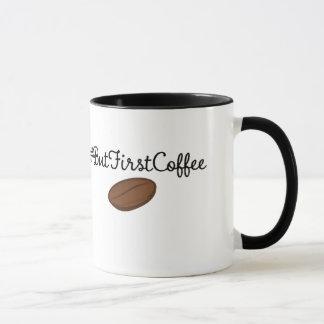 しかし最初コーヒーhashtagのマグ マグカップ