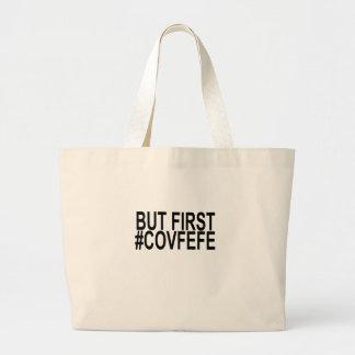 しかし最初covfefeのTシャツ。 ラージトートバッグ